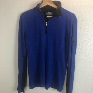 Lauren Ralph Lauren Active 1/4 Zip Pullover Top
